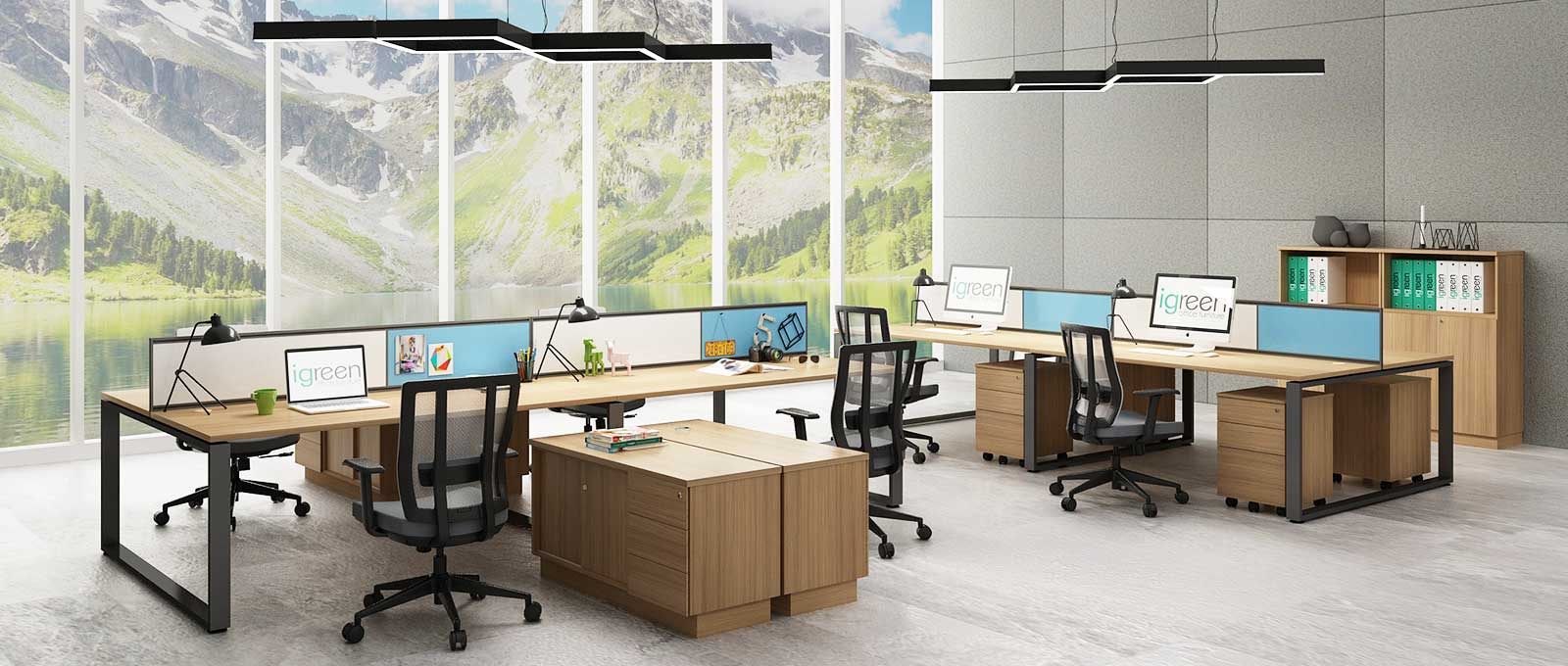 quattro-series-office-furniture-open-workstation-malaysia