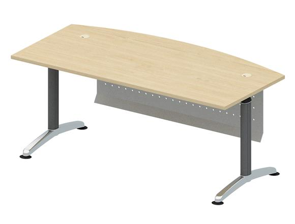 Curve Main Table Tender Executive Desk Products Igreen Office - 6 foot office table